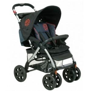 Cochecito bebé 4 ruedas reclinable - Costa del Sol